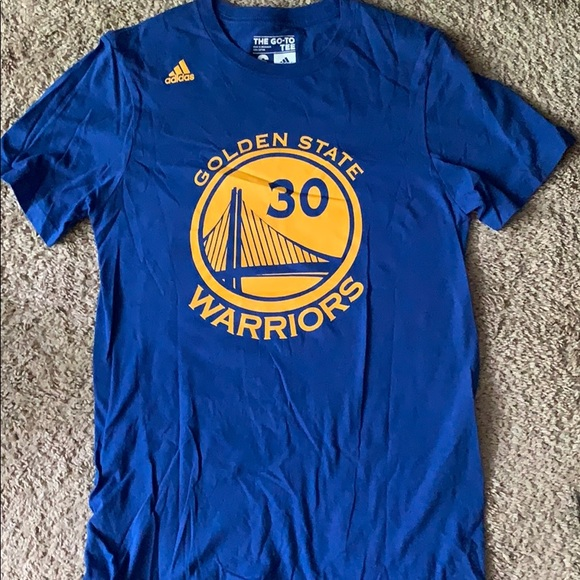 adidas Other - Steph Curry Golden state warriors tee